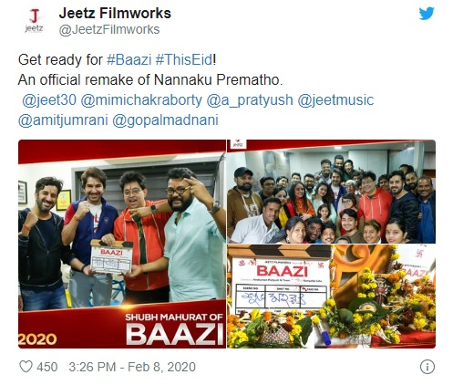 Jeet's Tweet of Baazi